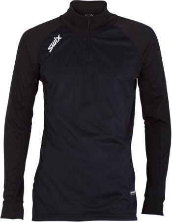 Swix moška majica Wind Racex, črna, L
