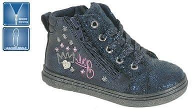 c88eb30d3dc Beppi dívčí kotníkové boty 22 modrá