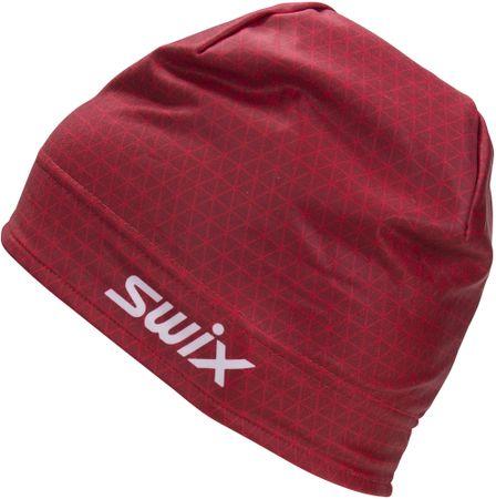 Swix kapa Race Warm, rdeča, 56