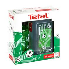 Tefal KIDS sada dóza plast+láhev tritan 0,4 L zelená-fotbal K3169314