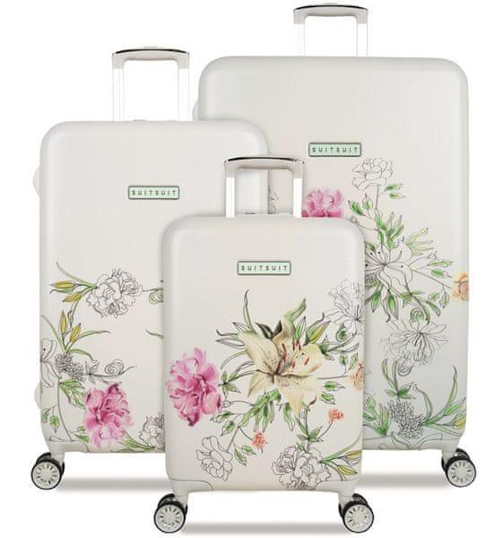 SuitSuit Sada cestovních kufrů TR-5101/3 - 10th Anniversary English Garden