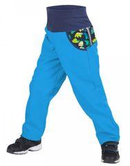 Unuo chlapecké softshellové kalhoty s medvědem