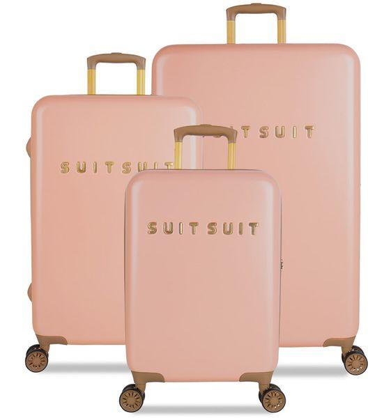 SuitSuit Sada cestovních kufrů TR-7101/3 - Fab Seventies Coral Cloud