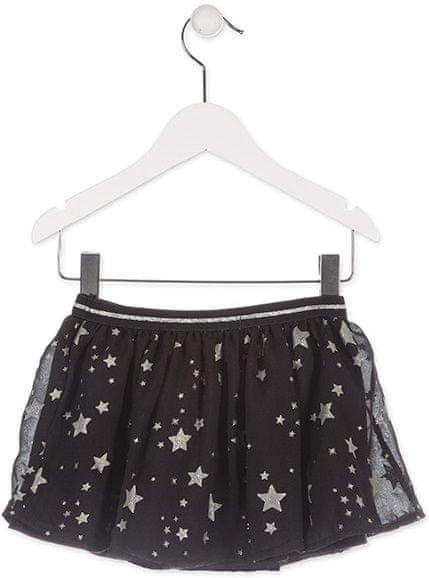 Losan dívčí sukně 116 černá