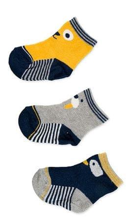 Losan chlapecký set 3ks ponožek 68 vícebarevná