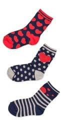 Losan dívčí set 3ks ponožek