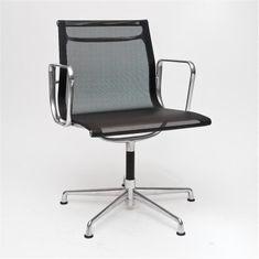 Mørtens Furniture Konferenční židle Magnum, síťovina, černá