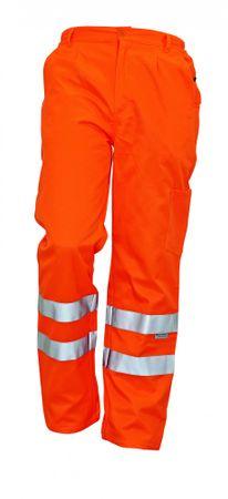Červa Reflexné pracovné nohavice Koros pánske oranžová 54