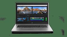 HP prenosnik ZBook 17 G5 i7-8750H/8GB/SSD256GB+1TB/P1000/17,3FHD/W10P (2XD25AV)