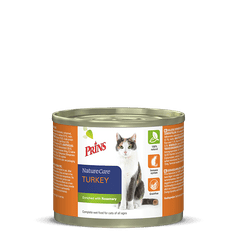 Prins mačja konzerva NatureCare, puran, 200 g