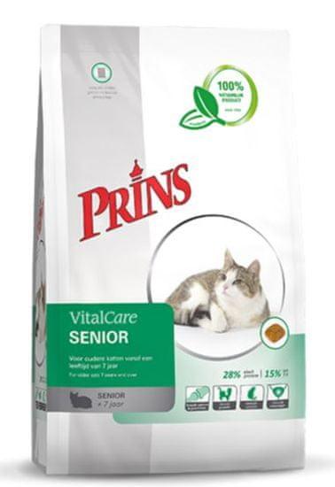 Prins hrana za mačke VitalCare Senior, 1,5 kg