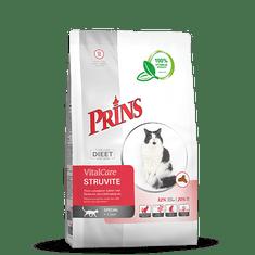 Prins hrana za mačke z diagnozo struvitnih kamnov VitalCare Struvite, 1,5 kg