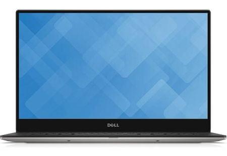 DELL prenosnik XPS 9360 i7-8550U/8GB/SSD256GB/13,3QHD+/W10H, srebrn (DXPS9360I7-8-256-620QWS-12)