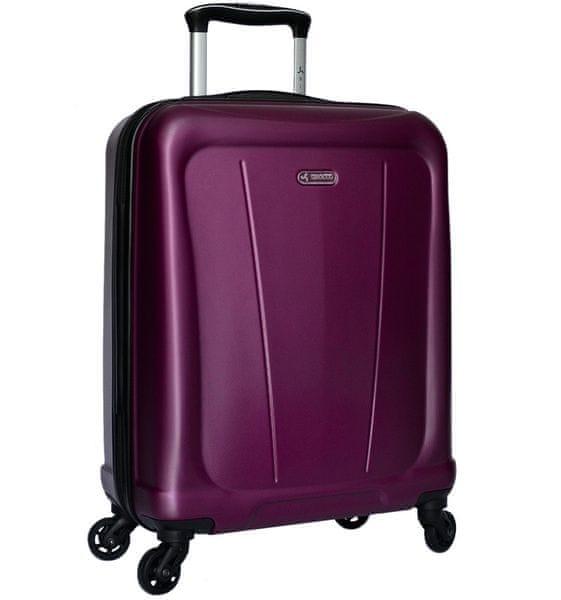 Sirocco Cestovní kufr T-1213/1-S ABS - fialová