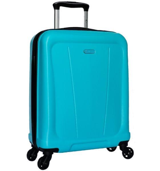 Sirocco Cestovní kufr T-1213/1-S ABS - modrá