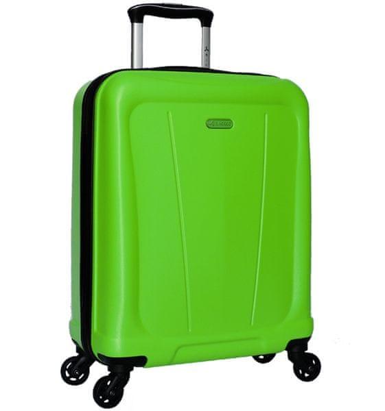 Sirocco Cestovní kufr T-1213/1-S ABS - zelená