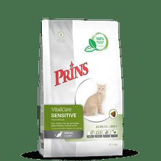 Prins hrana za občutljive mačke VitalCare Sensitive Hypoallergic, 1,5 kg
