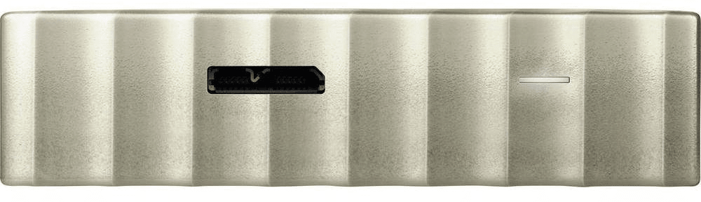 Western Digital My Passport Ultra Metal 4TB, bílá/zlatá (WDBFKT0040BGD-WESN)