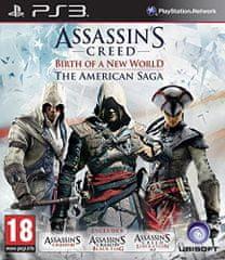 Ubisoft igra Assassin's Creed: American Saga Compilation (PS3)