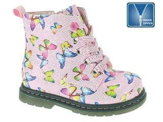 Beppi dievčenské členkové topánky 23 ružová