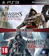 Ubisoft igra Compilation AC4: Black Flag & AC: Rogue (PS3)