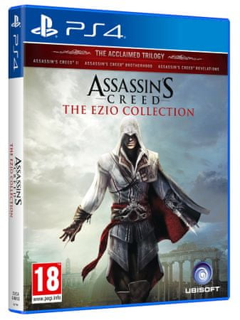 Ubisoft igra Assassin's Creed: The Ezio Collection (PS4)