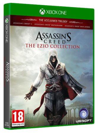 Ubisoft igra Assassin's Creed: The Ezio Collection (Xbox One)