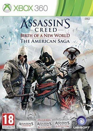 Ubisoft igra Assassin's Creed: American Saga Compilation (Xbox 360)