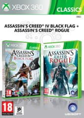 Ubisoft igra Compilation AC4: Black Flag & AC: Rogue (Xbox 360)