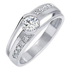 Brilio Silver Módn prsten ze stříbra 426 001 00503 04 - 2,27 g stříbro 925/1000
