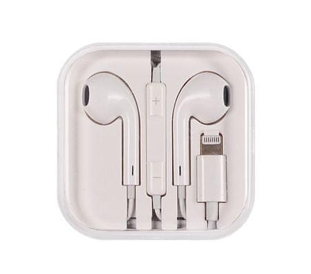 Slušalke za iPhone 7, iPhone 8 ali iPhone X, bele - Odprta embalaža