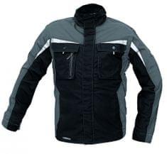 Allyn Montérková bunda s reflexnými prvkami čierna 52