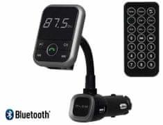 Blow FM oddajnik 74-142, 3v1, Bluetooth + polnilec + prostoročno telefoniranje, črn