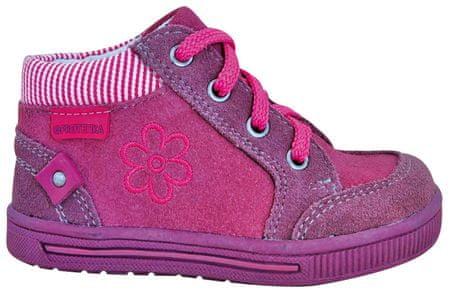 Protetika kotníkové boty Marka 22 růžová