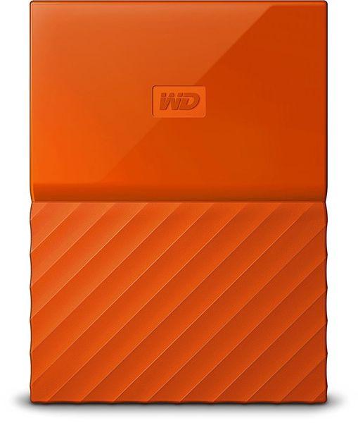 WD My Passport 2TB, oranžová (WDBS4B0020BOR-WESN)