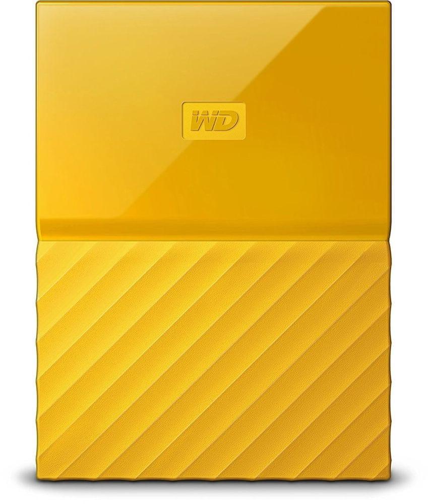 Western Digital My Passport 2TB, žlutá (WDBS4B0020BYL-WESN)