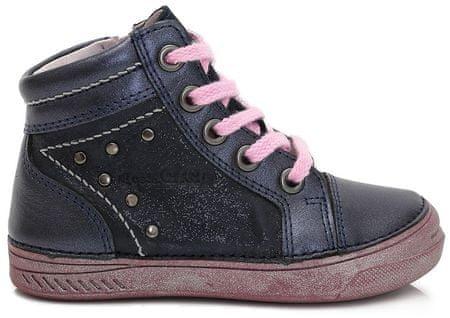 D-D-step botki dziewczęce, 34, niebieskie