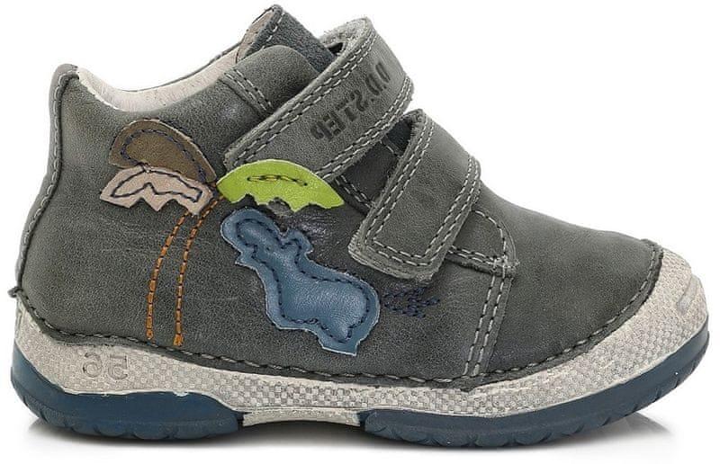 D d step chlapecke kotnikove boty 21 hneda levně  d84385f8d6