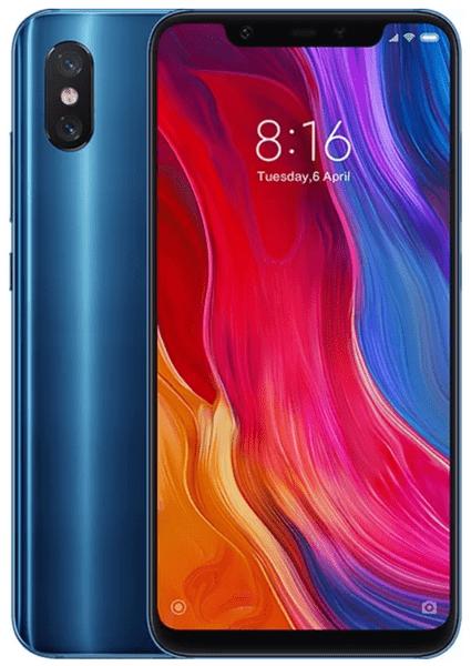 Xiaomi Mi 8, 6GB/128GB, Global Version, Blue