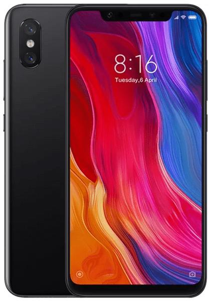 Xiaomi Mi 8, 6 GB / 64 GB, Global Version, černá