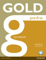 Edwards Lynda: Gold Pre-First Coursebook and CD-ROM Pack