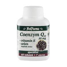 MedPharma Coenzym Q10 30 mg + vitamín E + selen 30 tob. + 7 tob. ZDARMA