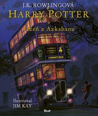 Rowlingová Joanne K.: Harry Potter 3 a väzeň z Azkabanu – Ilustrovaná edícia