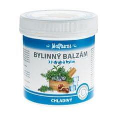 MedPharma Bylinný balzám chladivý 33 druhů bylin 250 ml