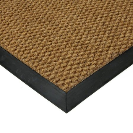 FLOMAT Béžová textilní zátěžová vstupní čistící rohož Fiona - 500 x 200 x 1,1 cm