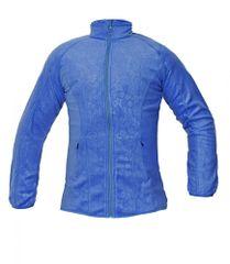 Cerva Yowie dámska fleece mikina modrá S