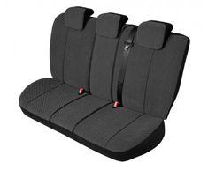 KEGEL Potahy na zadní sedadla Scotland M-L Super Lux back, barva černá