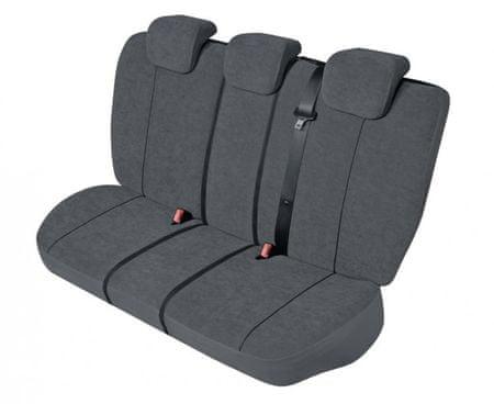 KEGEL Potah na zadní sedadla Elegance Super M-L Air Bag LUX, barva šedá