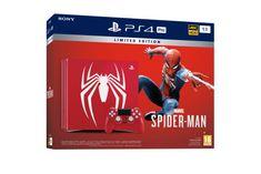 Sony igralna konzola PlayStation 4 Pro + Marvel's Spider-Man Limited Ed., 1 TB, rdeča