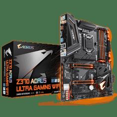 Gigabyte osnovna plošča Z370 AORUS Ultra Gaming WIFI, DDR4, USB 3.1 Gen 2, LGA1151, ATX